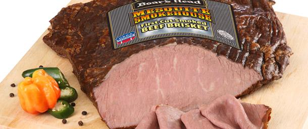 Mesquite Smokehouse 1st Cut Smoked Seasoned Beef Brisket