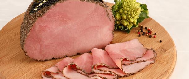 Gourmet Pepper Brand Ham