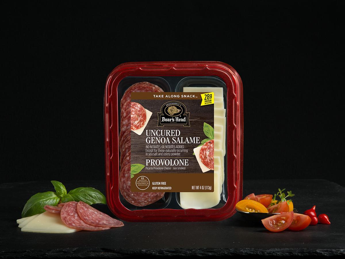 Genoa Salame & Picante Provolone Cheese