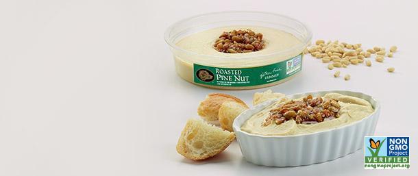Roasted Pine Nut Hummus