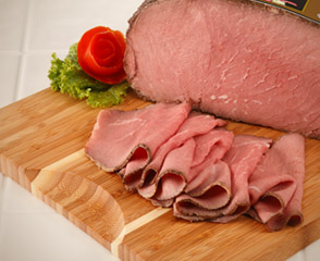 Deluxe Low Sodium Oven Roasted Beef - Cap-Off Top Round