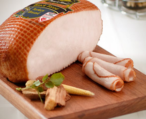 Hickory Smoked Black Forest Turkey Breast - 40% Lower Sodium