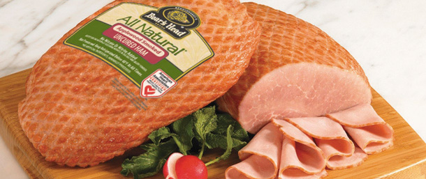 All Natural* Applewood Smoked Uncured Ham