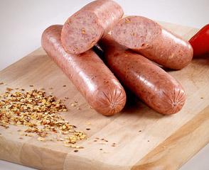 Hot Smoked Sausage (Skinless)