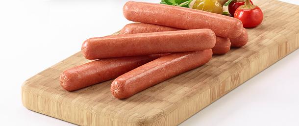 Beef Frankfurters (Skinless)