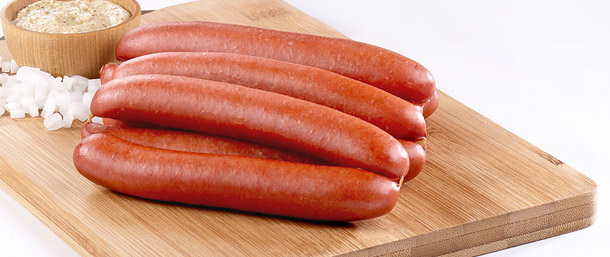 Lite Beef Frankfurters (Natural Casing)
