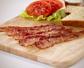 Fully Cooked Naturally Smoked Imported Bacon