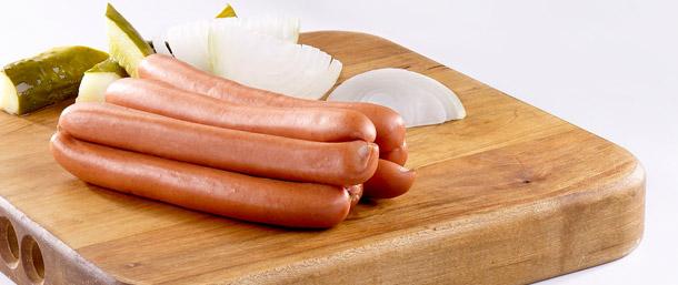 Pork & Beef Frankfurters (Natural Casing)