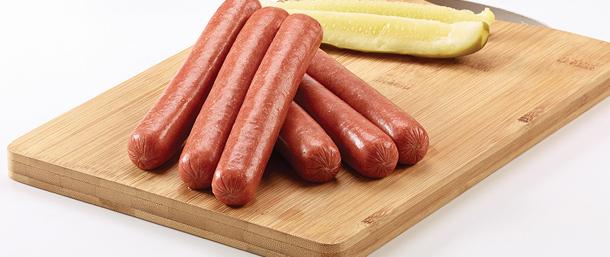 Lite Beef Frankfurters (Skinless)