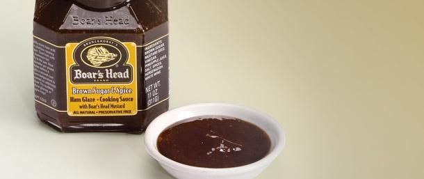 Brown Sugar & Spice Ham Glaze Cooking Sauce