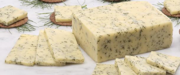 Cream Havarti Cheese with Dill