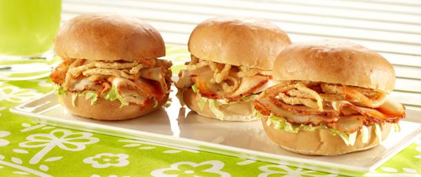 Crispy Blazing Buffalo® Chicken Sliders
