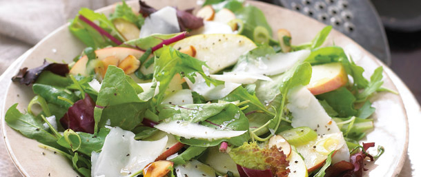 Goat Cheese & Fuji Apple Salad
