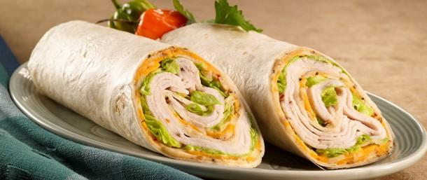 Jerk Chicken Pepper Wrap