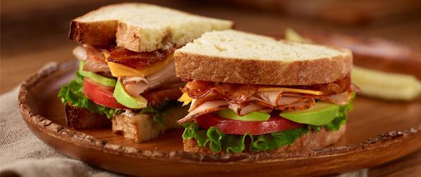 Ovengold® Turkey Avocado Sandwich