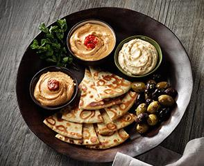 Boar's Head Hummus Trio