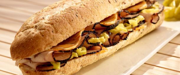 Blackened Turkey Pepper Sandwich