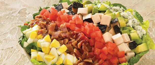 Maple Glazed Chicken Cobb Salad