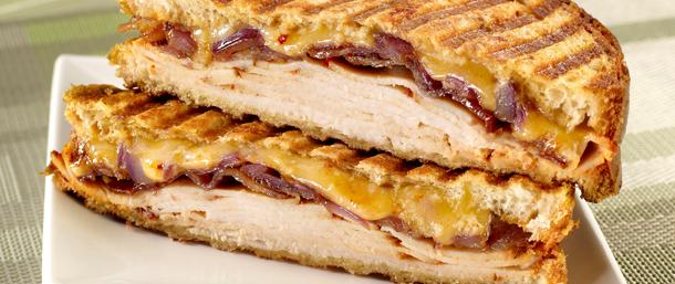 Chipotle Chicken & Bacon Panini