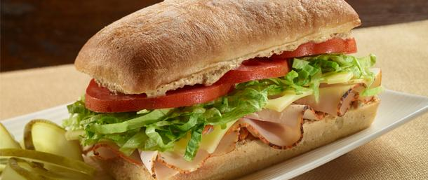 Turkey & Swiss Ciabatta