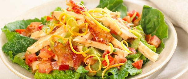 BBQ BLT Chicken Salad