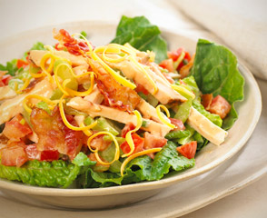 BBQ BLT Chicken Salad