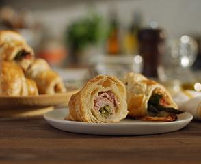 SmokeMaster™ Black Forest Ham & Asparagus Croissants
