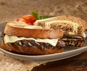 Gold Label Switzerland Swiss® and Portobello Sandwich