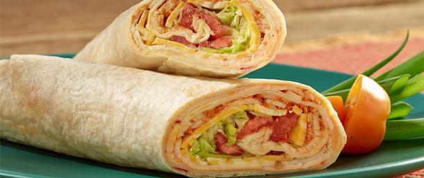 Salsalito® Turkey Hummus Wrap