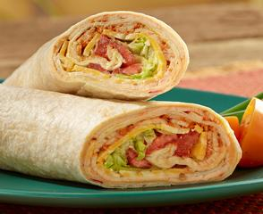 Salsalito® Turkey Hummus Wrap