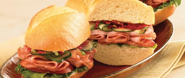 Sweet Slice® Ham Sandwich