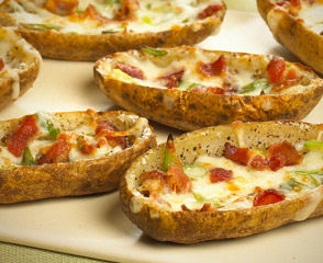 Spicy Potato Skins