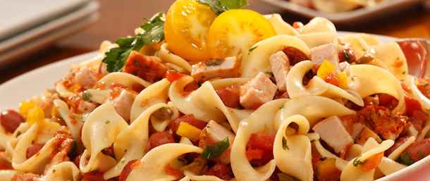 Salsalito Turkey Pasta & Kidney Bean Salad
