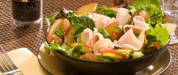 Lower Sodium Turkey Waldorf Salad