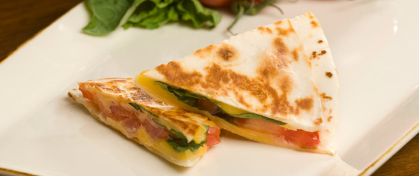 Lower Sodium Lower Fat Cheese Quesadilla