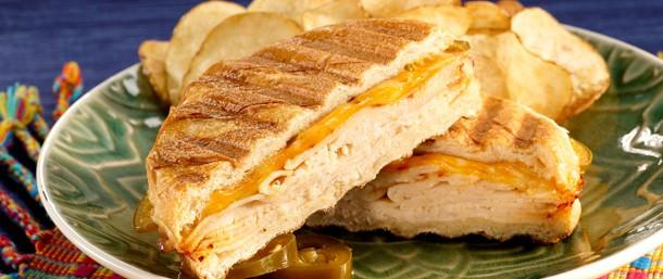 Chipotle Chicken 3 Pepper Panini