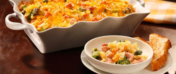 Sweet Slice® Ham & Cheddar Cheese Casserole