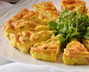 Spanish-style Chorizo & Sweet Potato Frittata