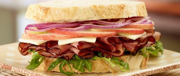 Maple Honey Ham Orchard Sandwich