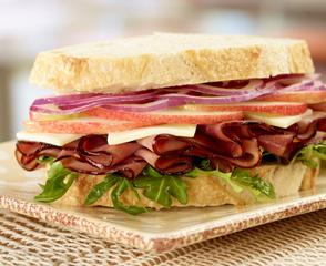 Maple Honey Ham Orchard Sandwich