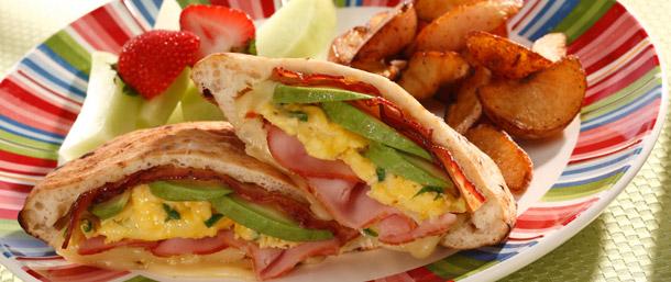 Tavern Ham Breakfast Pita