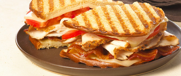 All American BBQ Chicken Panini