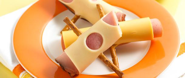 Maple Honey Coat® Ham Pretzel Rollups