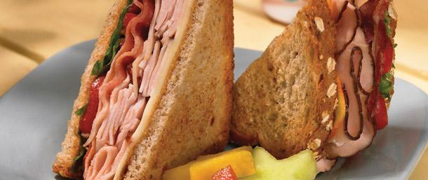 Maple Honey Turkey & Bacon Sandwich