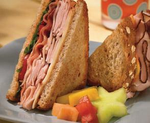 easy maple honey turkey bacon sandwich easy lower sodium turkey