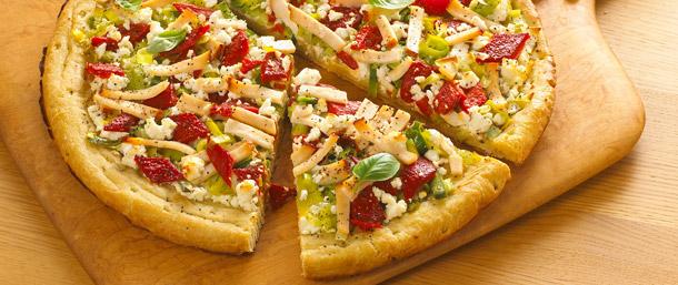 EverRoast® Chicken Breast and Leek Pizza