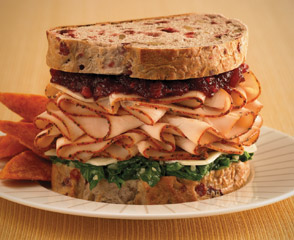Ovengold® Thanksgiving Sandwich