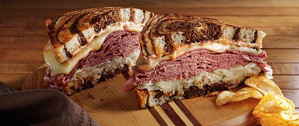 Classic Reuben Sandwich