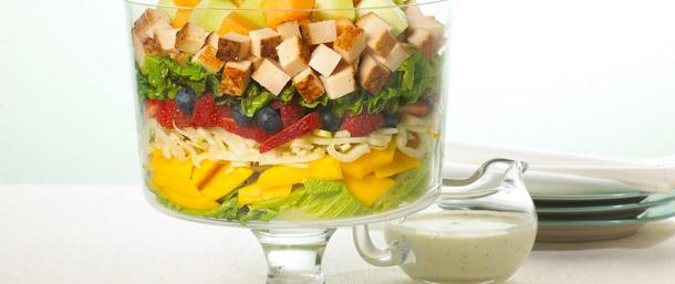 EverRoast® Chicken Garden Salad with Poppy Seed Dressing