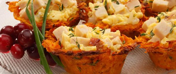 EverRoast® & Sweet Potato Egg Nests